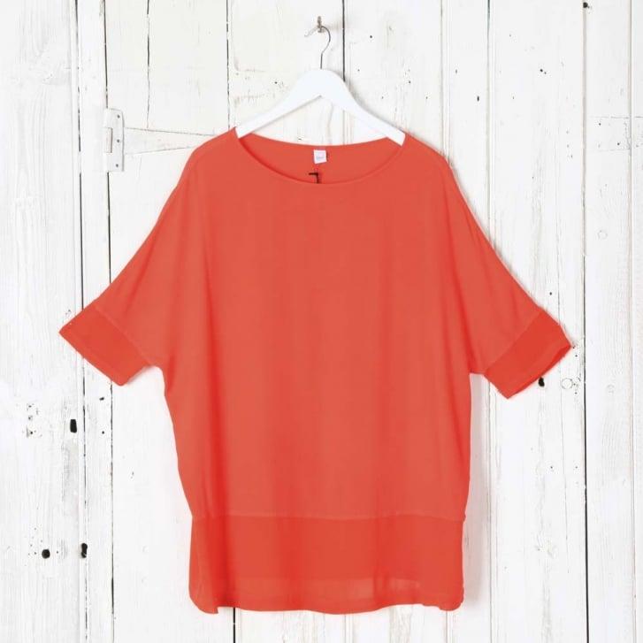 HW2 Crepe & Gette Easy T-Shirt