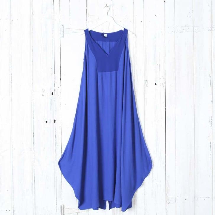 HW2 Crepe Long Dress