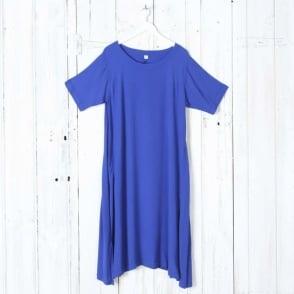Crepe Panel Dress
