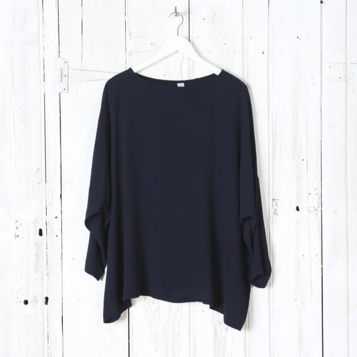 HW2 Crepe Sweater Top