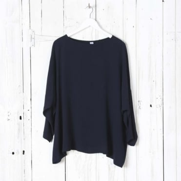 Crepe Sweater Top