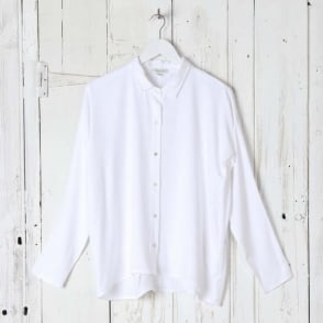 Collar Crepe Shirt