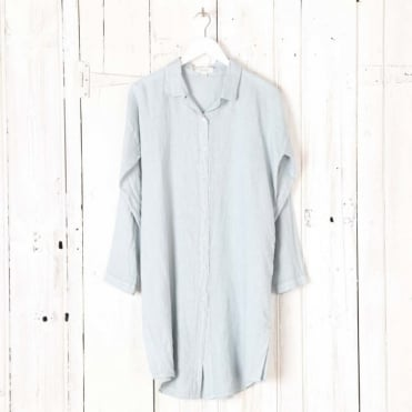 Linen Long Easy Shirt