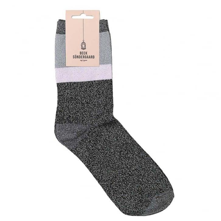 BECKSONDERGAARD Dalea Block Sock