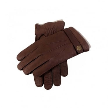 Deerskin Casual Glove in Brown