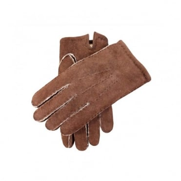 York Handsewn Lambskin Gloves with Fleecy Lining