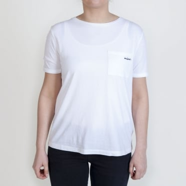 Mine Simple T Shirt in White