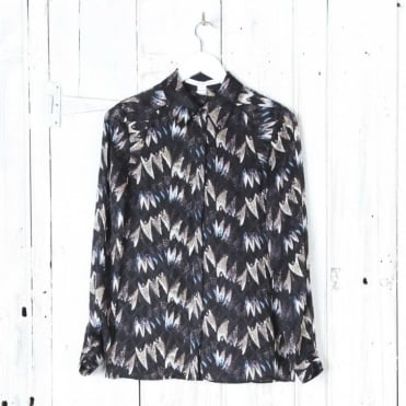 Chrissie Shirt Army of Hearts Print
