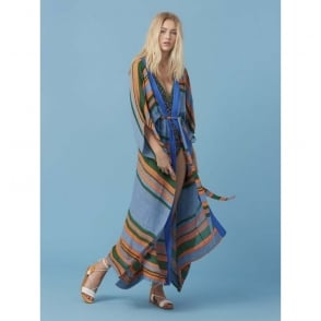 Floor Length Wrap Dress