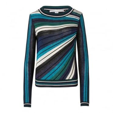 Joletta Metallic Pullover