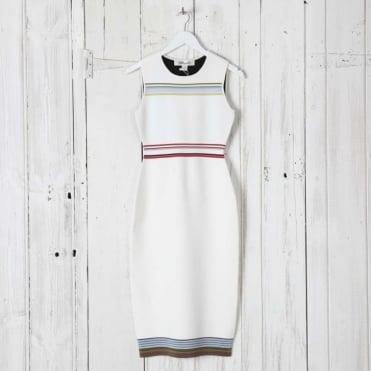 Ribbon Knit Tank Dress