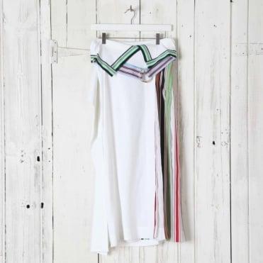 Side Pleat Ribbon Skirt