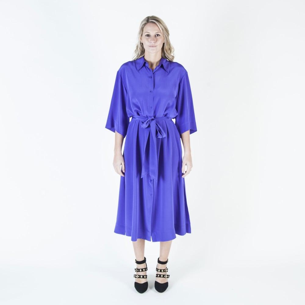 Purple shirt-dress Diane Von F A9bEjz