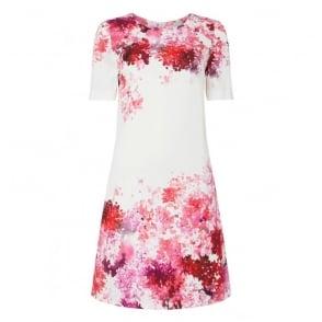 Dixie Watercolour Print Dress