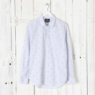 Dot Print Selik 17-1 Shirt