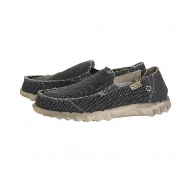 Farty Natural Cotton Shoe in Black