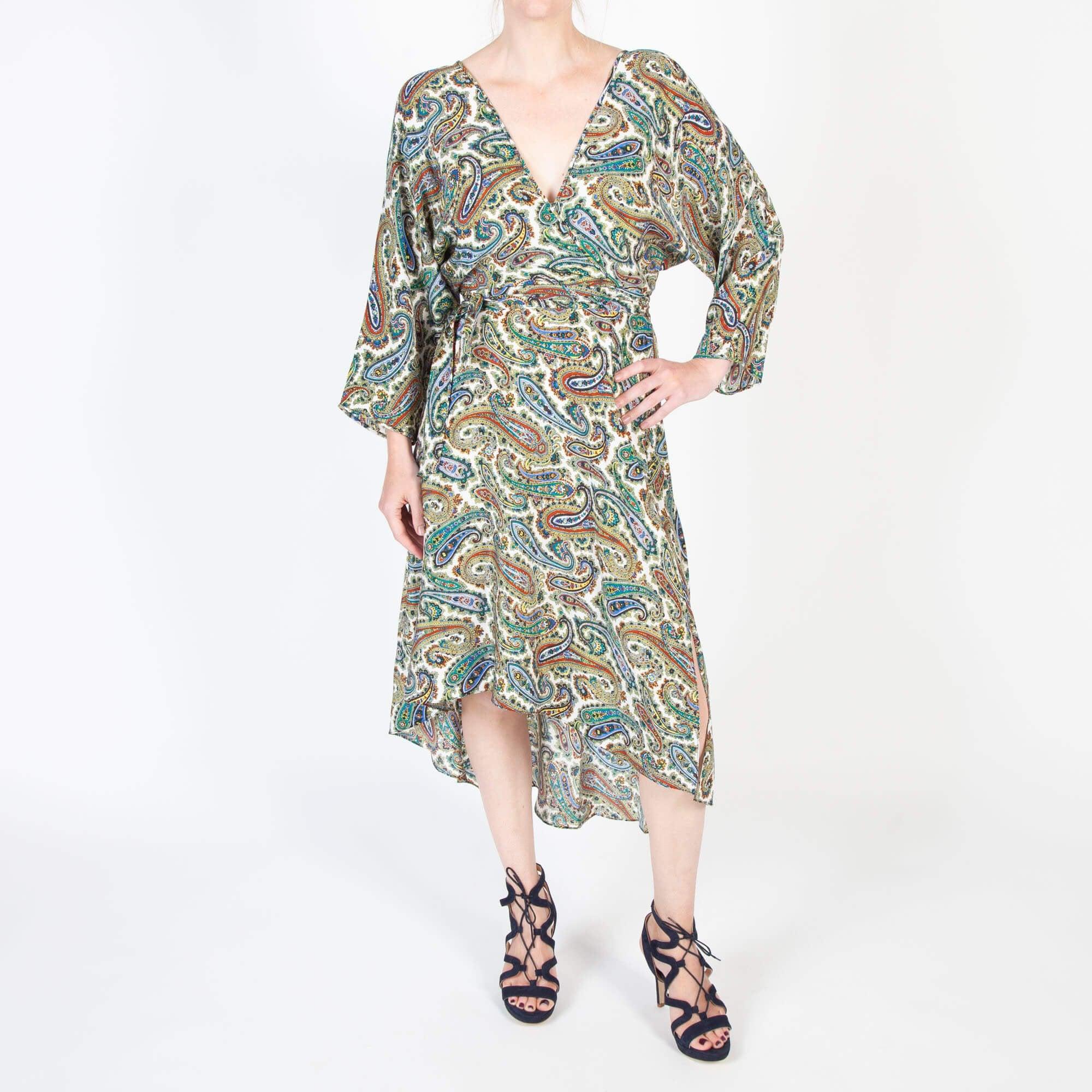 dc53c77de2db8 Diane Von Furstenberg Eloise Asymmetric Mini Dress | Collen & Clare