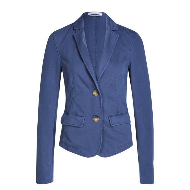 OUI Easy Denim Jersey Blazer