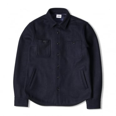4 Pocket Labour Shirt in Navy