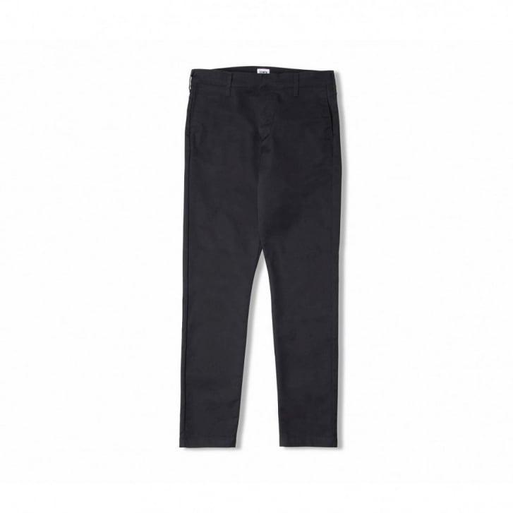 EDWIN 45 Chino CS Twill Poly Cotton in Black