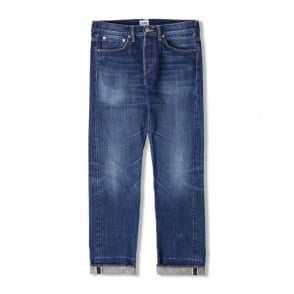 ED-55 63 Rainbow Selvage Denim in Blue Kiyoshi Wash