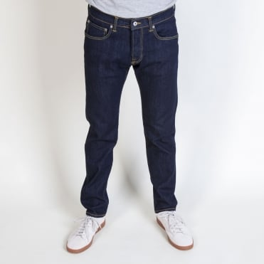 ED-80 Slim Tapered CS Red Listed Selvage Denim in 10.5oz Rinsed