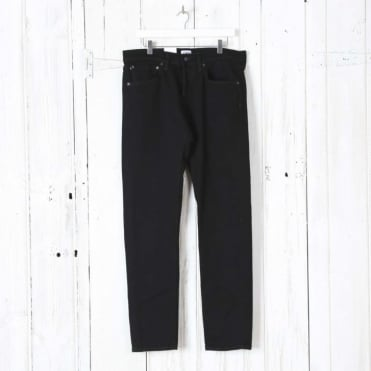 ED-80 Slim Tapered CS White Listed Black Selvage Denim in 13oz Rinsed