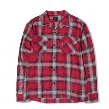 Garage Check Shirt in Red
