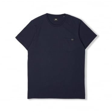 Simple Pocket T Shirt in Navy