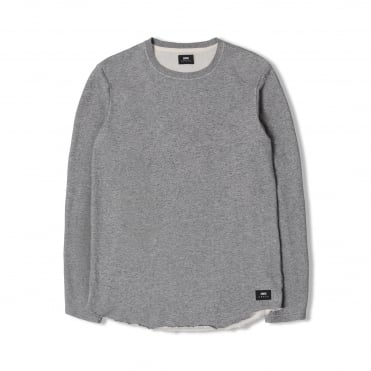 Terry LS Cotton Sweat in Grey