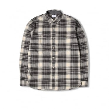 Triple 10 Check Shirt in Grey