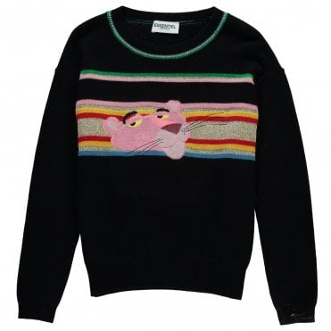 Ranthera Pink Panther Knit in Black · ESSENTIEL ANTWERP ... e1f7c844ce