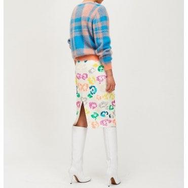 32850b1432 Tiswow Sequin Skirt in Off White · ESSENTIEL ANTWERP ...