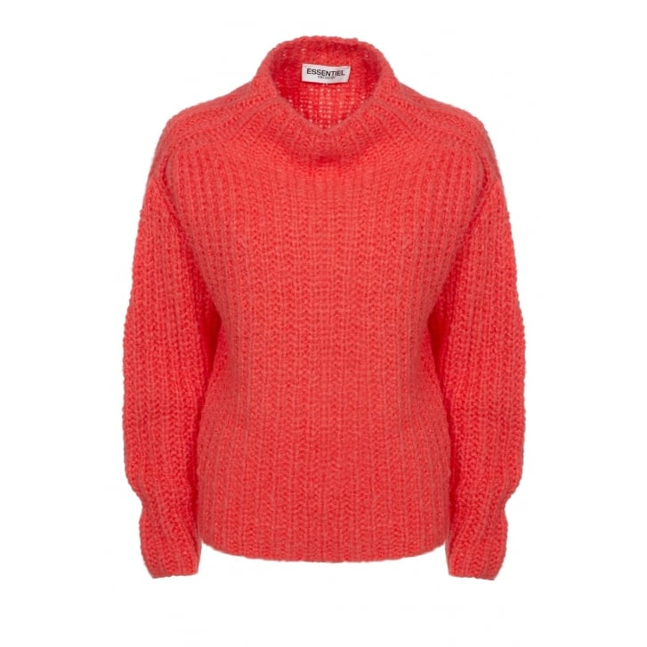ESSENTIEL Mohair Mix Chunky Knit