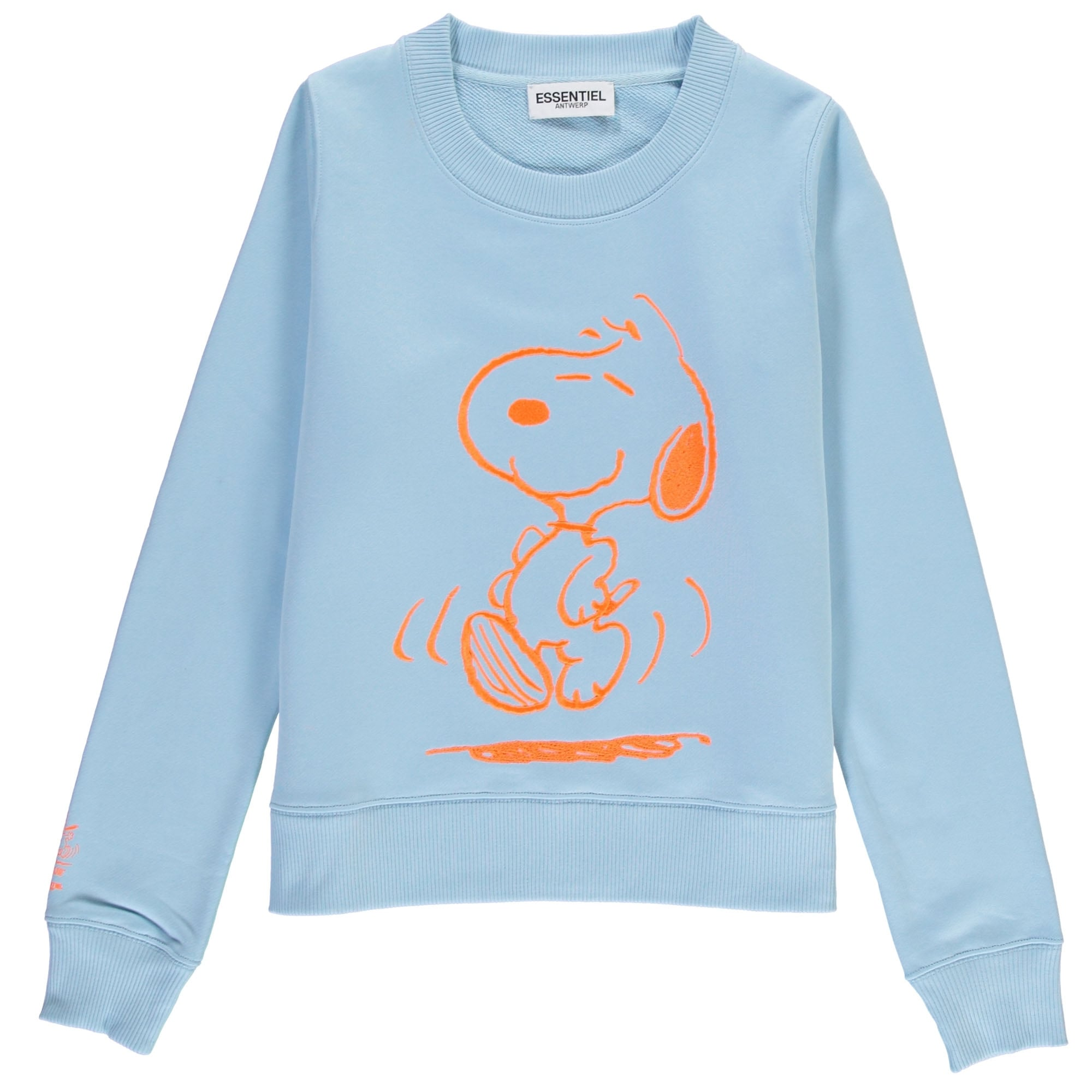 My Summertime Dance Snoopy Sweatshirt in Baby Blue
