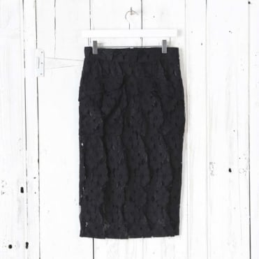 Nalla Midlength Lace Skirt