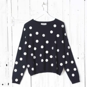 Sequin Spot Sweater