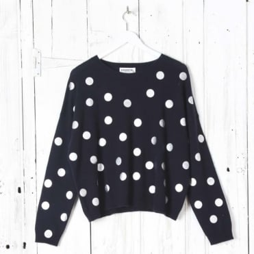 Sequin Spot Sweater