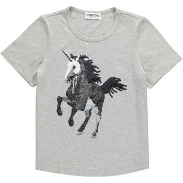 Sequined Unicorn T-Shirt