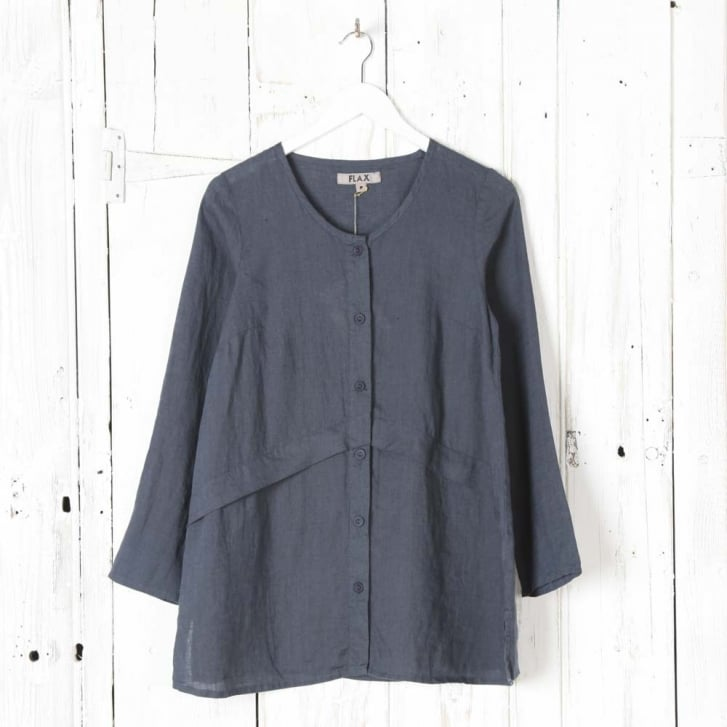 FLAX Extended Linen Cardigan