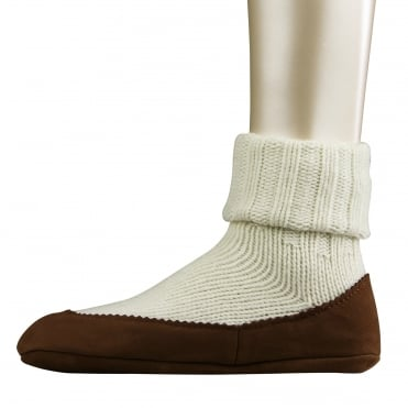 Cottage Sock in Off White