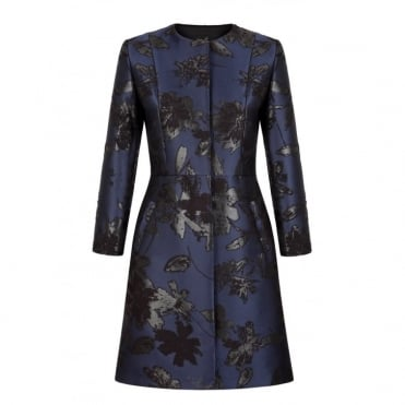 Jacquard Dress Coat