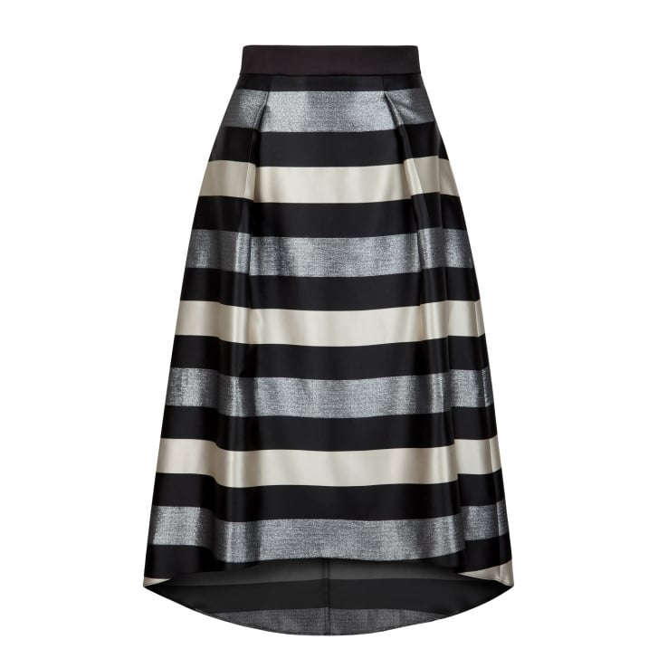 FEE G Stripe Midi Skirt