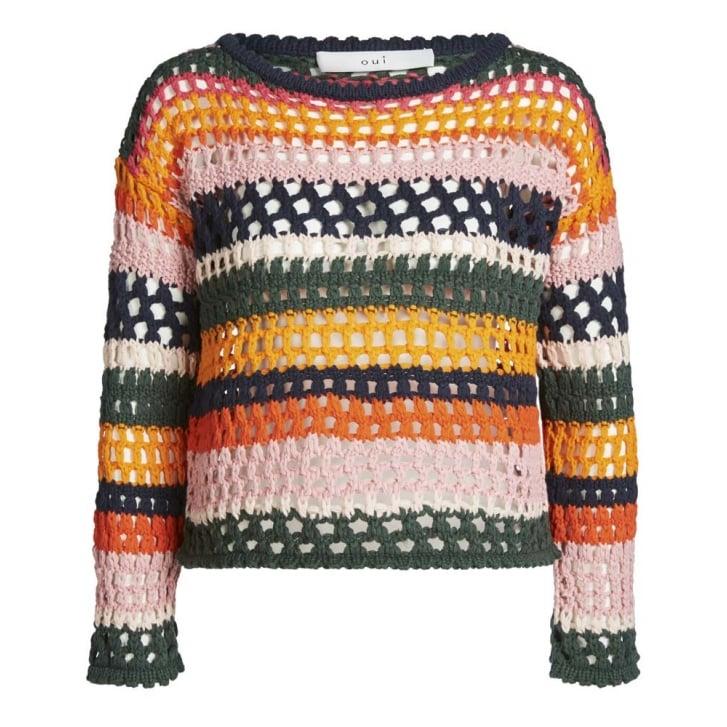 OUI Fisherman Sweater