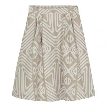 Flare Short Skirt