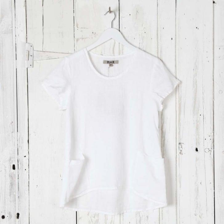 FLAX Cool Linen Short Sleeve Top