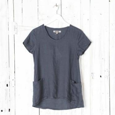 Cool Linen Short Sleeve Top