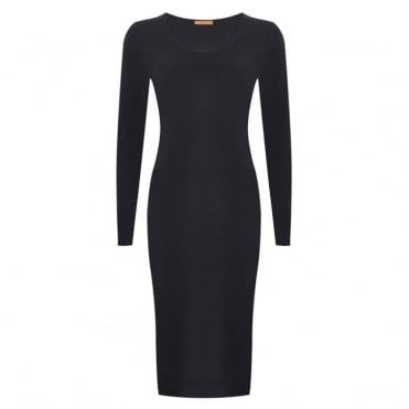Foundation Long Sleeve Scoop Dress