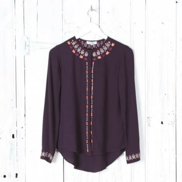 Lovina Embroidered Blouse