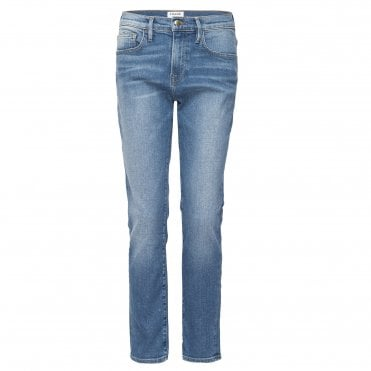 Le Boy Straight Leg Boyfriend Jean in Inhuist